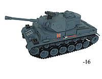 """Танк  Р\У """"Немецкая Пантера III"""" 37 см. 1:16 стреляет, поворот башни, свет"""