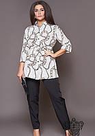 Женский костюм брюки с блузой 48,50,52,54,56,58,60,62, фото 1