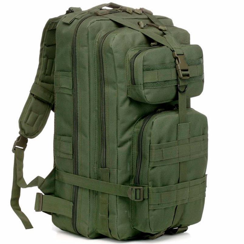 Рюкзак Тактический 45L городской походный рюкзак (Зеленый)