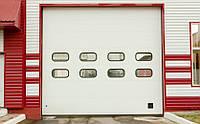 Промышленные секционные гаражные ворота Alutech PRO TREND (Беларусь)