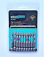 Набір біт Whirlpower (ОРИГІНАЛ) PZ*2*50 10 шт