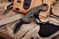 Нож складной (керамбит) компактных размеров, острое лезвие, удобный в исполнении различных задач, фото 1