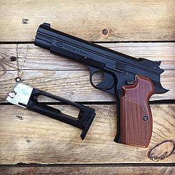Пистолет пневматический SAS P 210 (металл)