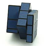 Зеркальный кубик Рубика 3х3 QiYi Mirror block Blue, фото 4