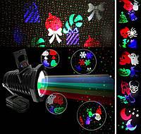 Лазерный проектор STAR SHOWER 2в1 40 узоров, фото 1