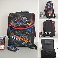 Ортопедический каркасный рюкзак Track Mountain для мальчика 34*25*15 см, фото 1