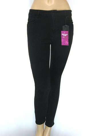 Жіночі чорні джинси з високою талією (американки), фото 2