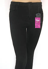 Жіночі чорні джинси з високою талією (американки), фото 3