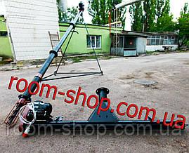 Шнековый погрузчик (перегрузчик) с подборщиком (підберач) диаметр 110 мм на 4 метра, фото 2