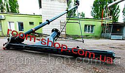 Шнековый погрузчик (перегрузчик) с подборщиком (підберач) диаметр 110 мм на 4 метра, фото 3