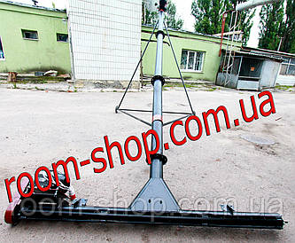 Шнековый погрузчик (перегрузчик) с подборщиком (підберач) диаметр 110 мм на 4 метра
