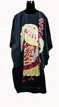 Шелковое кимоно японский зонтик