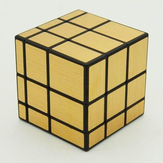 Зеркальный кубик Рубика 3х3 QiYi Mirror Gold