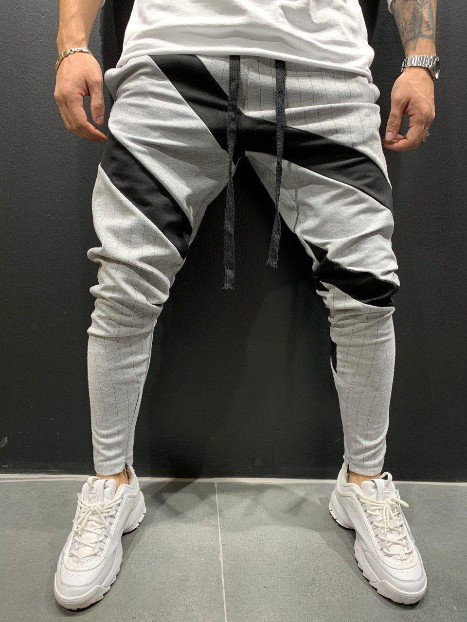 Спортивное штани вставки