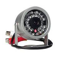 Цветная уличная (наружная) видеокамера с IR подсветкой до 15 метров, 1/3 CMOS, 380 TVL, 0 LUX (модель 802 СА)