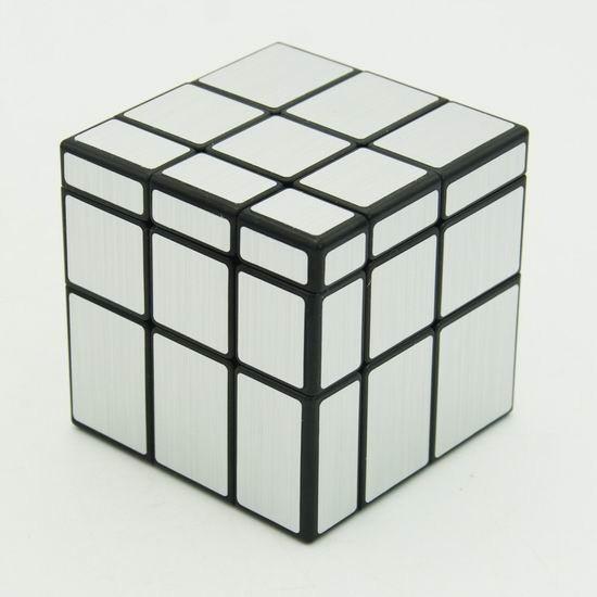 Зеркальный кубик Рубика 3х3 QiYi Mirror Silver