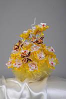 Букет из конфет на подарок маме ручной работы Восточная карамель