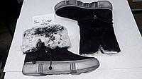 Угги полу сапоги зимние ботинки женские замша кожа разные цвета код 176