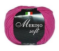 Пряжа Сеам Merino Soft Розовый