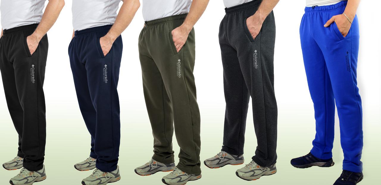 Мужские теплые трикотажные штаны с начесом Colorado размеры 50-56