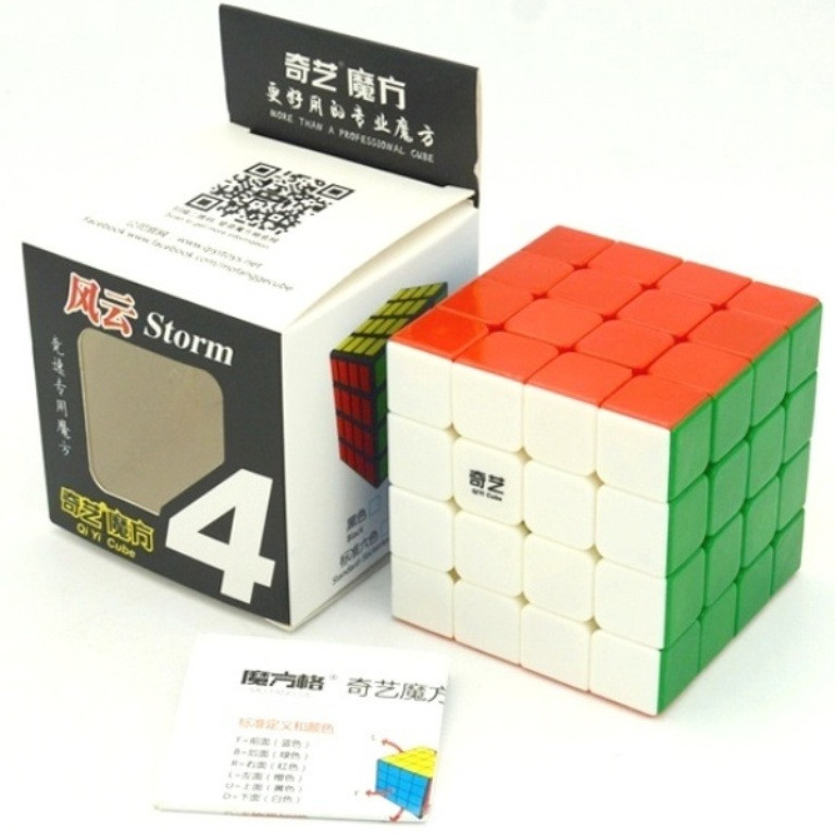 Кубик Рубика 4х4 Qiyi Qiyuan color