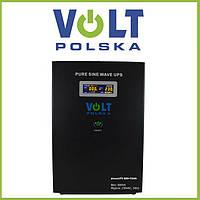 Преобразователь напряжения с АКБ VOLT POLSKA SinusUPS-800+55Ah, фото 1