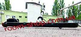 Шнековый погрузчик (разгрузчик) с подборщиком (підберач)  диаметром 110 мм длиною 10 метров, фото 3