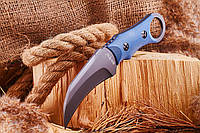 Нож нескладной (керамбит) мощный, эргономичный, обеспечивает надежность и удобство хвата