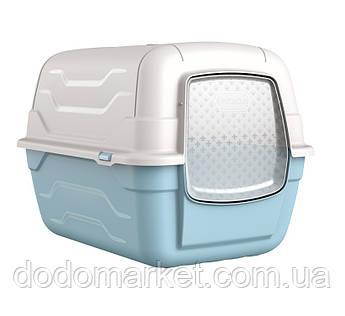 Закрытый туалет для кошек и собак Roto Toilet с фильтром и лопаткой