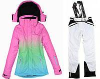 Лыжный костюм WHITE-PINK, фото 1