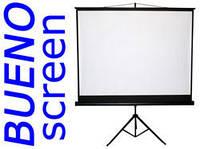 220x165 проекційний екран на тринозі портативний!, фото 1