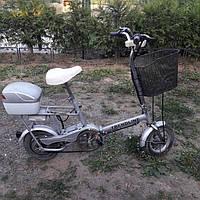 Складной электровелосипед Trendline 250W вес 20кг скорость 30км/ч электрический велосипед б/у из Германии