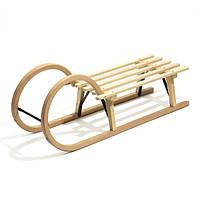 Санки деревянные WOOD ROGI, фото 1