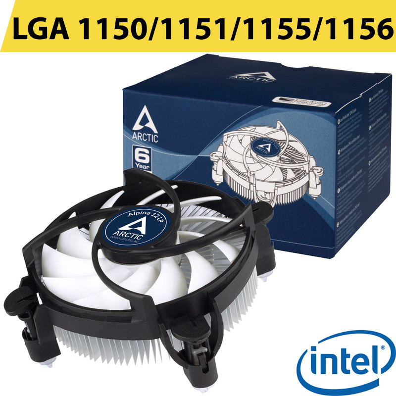 Кулер для процессора Arctic Alpine 12 LP (ACALP00029A) 4 пин (PWA) LGA 1150/1151/1155/1156