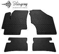Автомобильные коврики Hyundai Accent 2006-2010 Stingray Резиновые
