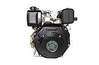 Двигун дизельний GrunWelt GW178FE (6 к. с., шліци), фото 1