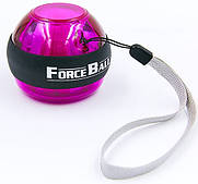 Power Ball (Повер Бол) без стартера, эспендер-тренажер гироскопический для кистей рук Force Ball