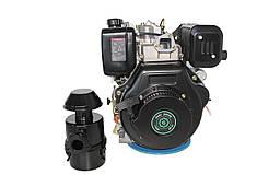 Двигатель дизельный GrunWelt GW192FE (14 л.с., шпонка)