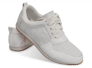 Женские кроссовки белого цвета! Мега удобные!
