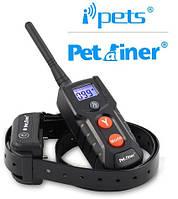 Ошейник для тренировки собаки IpetsPET916-1 100% Водонепроницаемый пульт Перезаряжаемый, фото 1