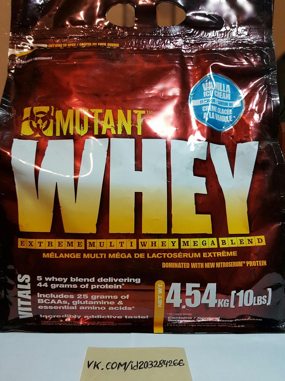 Протеин, PVL Mutant Whey 4,54кг