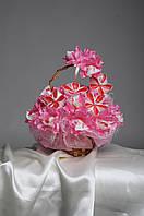 Букет из конфет на подарок  ручной работы Ромашковый