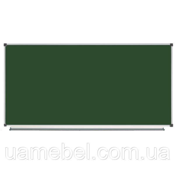 Школьная доска магнитная меловая 200х100 см, фото 1