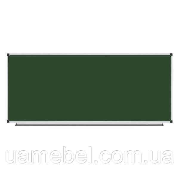 Школьная доска магнитная меловая 400х100 см