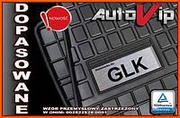 Резиновые коврики MERCEDES GLK X204 2008-  с лого, фото 1