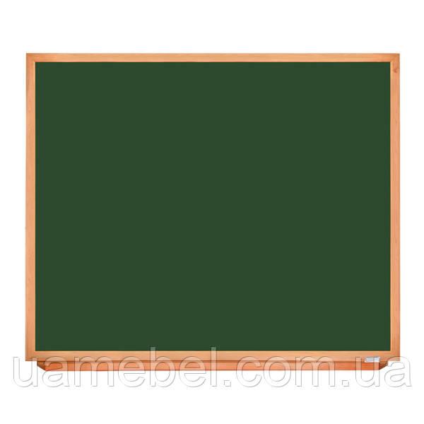 Школьная доска в деревянном профиле КЛАССИК, 150х120 см