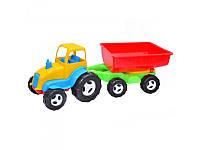 Игрушечный трактор с прицепом Kinderway 07-709