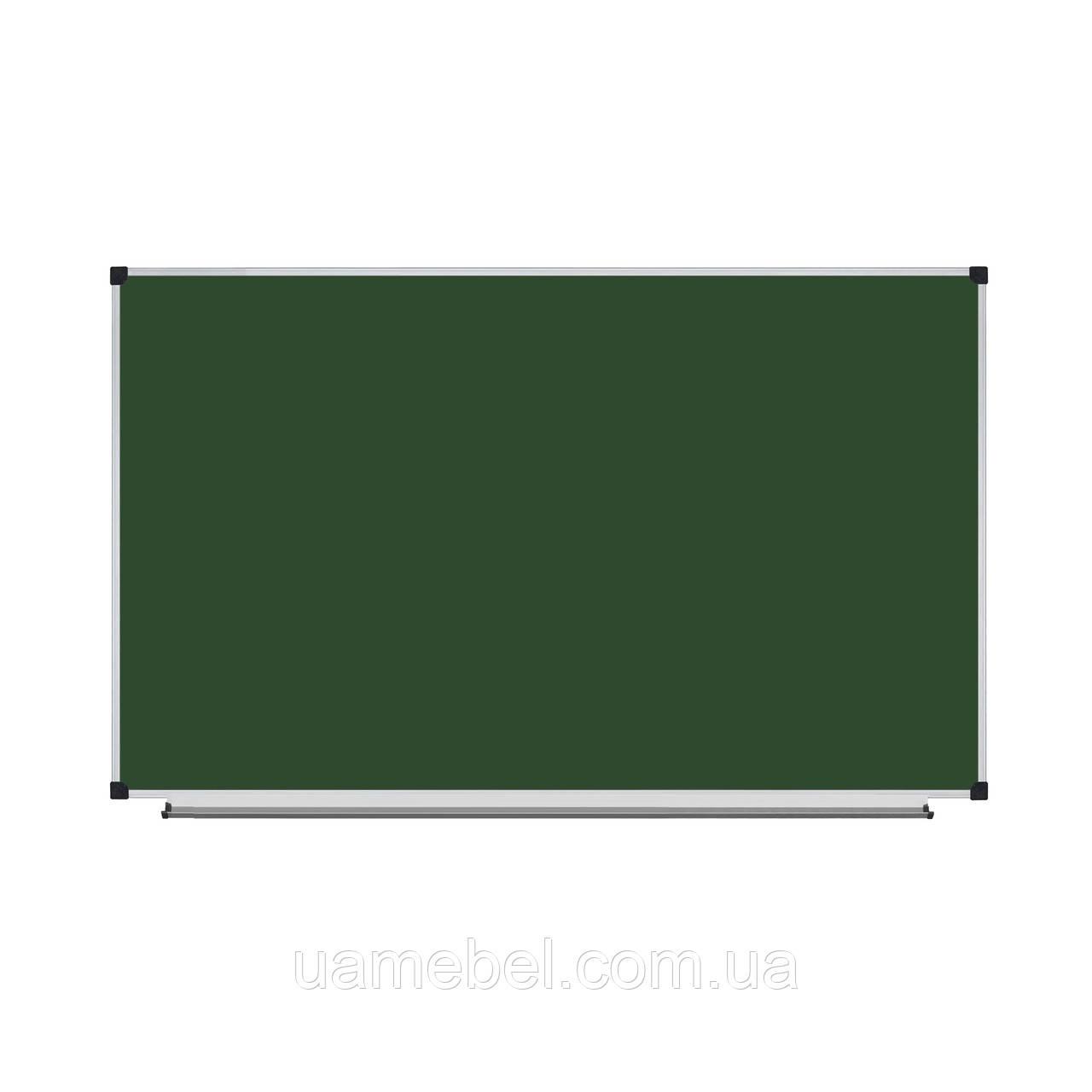 Школьная доска магнитная меловая 180х120 см, фото 1