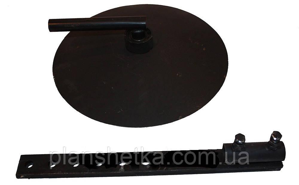 Окучник дисковый не регулируемый Ø39 см (пара) Премиум