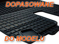 Резиновые коврики VOLVO C30 S40 V50 2004-  с логотипом, фото 1